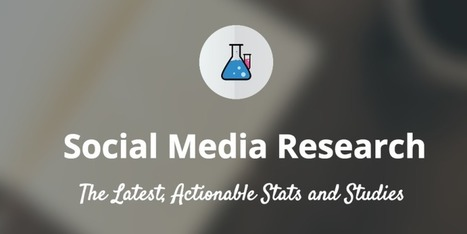 10 New & Useful Social Media Stats and Research Studies #PR | Social Media PR Public Relations | Scoop.it