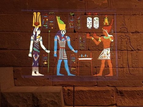 The Met Digitally Restores the Colors of an Ancient Egyptian Temple, Using Projection Mapping Technology | Littérature, arts et sciences | Scoop.it