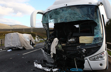 Two killed and A9 closed by crash between van and bus taking music fans to RockNess music festival | Today's Edinburgh News | Scoop.it