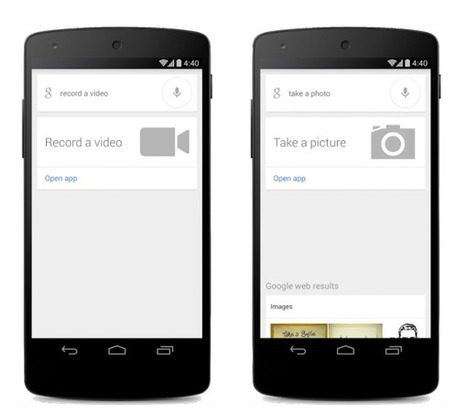 Google Search Can Now Take Photos, Videos, On ... - Marketing Land | test | Scoop.it