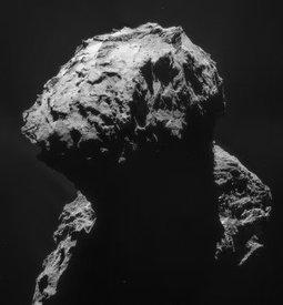 Rosettas Komet verliert seine äußere Staubschicht - Raumfahrer.net | Astronomie | Scoop.it