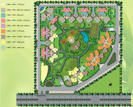 Amrapali Spring Meadows Noida Extension Site Plan | 9911780088 | Amrapali Spring Meadows Noida Extension | Scoop.it