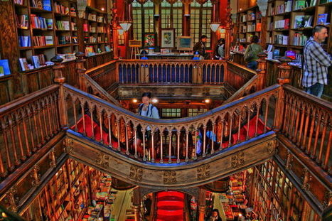 De 15 meest bijzondere boekenwinkels ter wereld - cultuur & media - De Morgen | trends in bibliotheken | Scoop.it