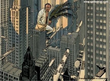 La verticalité : Les Cités obscures , ville-personnage et espace de narration - Sciences Dessinées | L'Histoire des Arts en 3ème au collège Vincent Auriol | Scoop.it