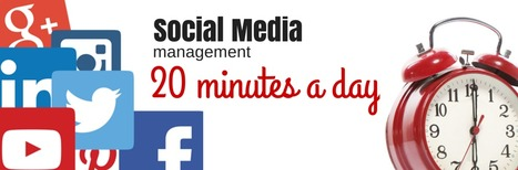 Social Media in 20 minutes a day - www.lauradunkley.com | Social Media for business best practices | Scoop.it