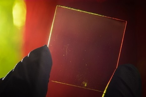 This fully transparent solar cell could make every window and screen a power source (updated) | ExtremeTech | leapmind | Scoop.it