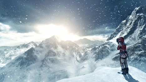 Du gameplay pour Rise of the Tomb Raider   Actualités   Scoop.it