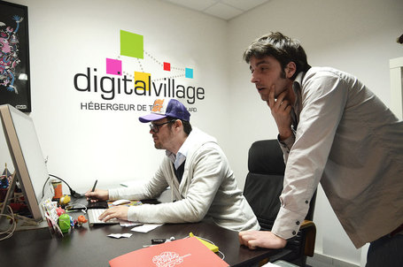 Digital Village surfe sur la vague du coworking - DirectMatin.fr | Le numérique et la ruralité | Scoop.it
