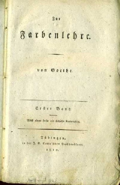 Goethe's Theory of Colors: The 1810 Treatise That Inspired Kandinsky & Early Abstract Painting | abstract art | Scoop.it