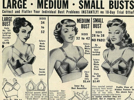 Vintage bra ads | Hosiery & Lingerie | Scoop.it