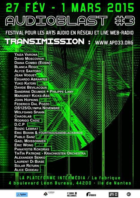 samedi 28 février à 23:00 @ Audioblast Festival #3 - APO-33   Jean VOGUET compositeur   Scoop.it