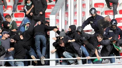 Violences entre supporters de foot : sept personnes interpellées à Nice et à Saint-Etienne | La violence et le sport | Scoop.it