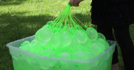 A Creative Dad Just Made Water Balloon Fights Way More Efficient | Sport Outdoor et plus | Scoop.it