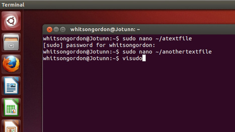 Make Sudo Sessions Last Longer in Linux | Educational Technology - Yeshiva Edition | Scoop.it