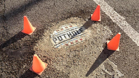 This Artist Is Filling In Chicago's Potholes With Mosaics   Change will do you good   Scoop.it