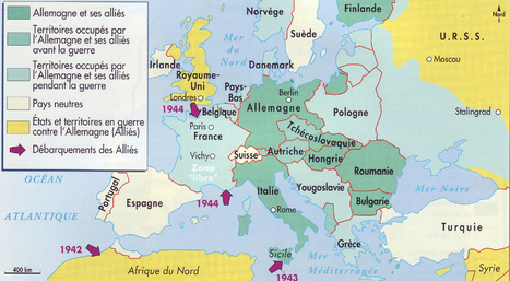Suivez la seconde guerre mondiale en direct via Twitter | Histoire de France | Scoop.it