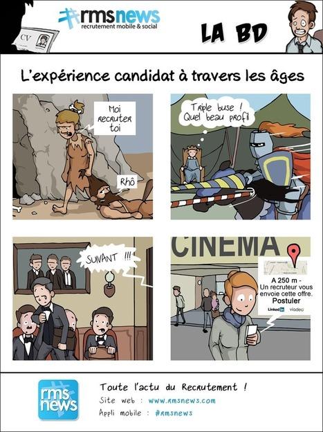 Expérience candidat : de l'âge de pierre au mobile ! | Ressources humaines 2.0 | Scoop.it
