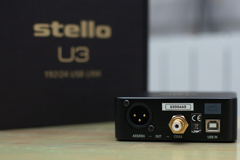 Musique Audiophile essaie le Stello U3 | April Music | Scoop.it