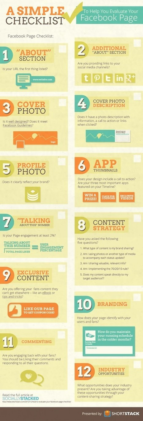 Evaluate Your Facebook Page | The Best Infographics on the Planet | World's Best Infographics | Scoop.it