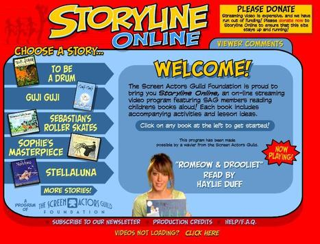 Storyline Online | Reading Resources | Scoop.it
