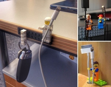 10 Clever DIY Cable Organization Ideas | Amazing interior design | Scoop.it