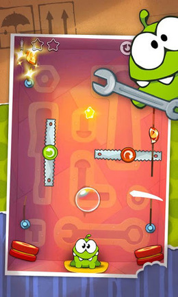 Cut the Rope HD v2.3.2 | ApkLife-Android Apps Games Themes | nice | Scoop.it