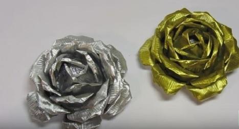 Rose di alluminio: un'idea riciclosa per la festa della mamma   Love DIY   Scoop.it