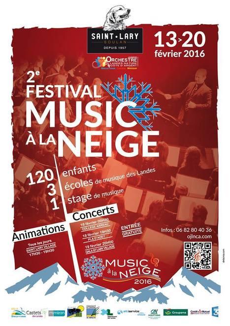 Music' à la Neige en vallée d'Aure du 13 au 20 février 2016 | Vallée d'Aure - Pyrénées | Scoop.it