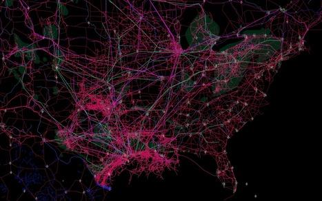 Connectivity Atlas | Univers géographique (geographical universe) | Scoop.it