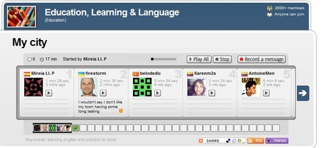 Voxopop - a voice based eLearning tool   九州・沖縄LET2012年6月大会Keynote Links   Scoop.it
