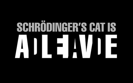 Schrödinger's Cat could be visible after all | Merveilles - Marvels | Scoop.it