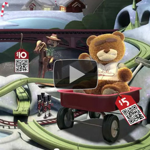 QR eBay: Give-A-Toy Store Window Installation | augmented reality examples | Scoop.it