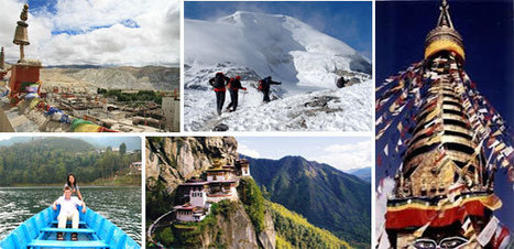 The Neighbouring Himalayan Kingdoms of Nepal and Bhutan   Odyssey Tours and Travels   Scoop.it