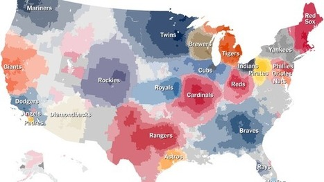 Up Close on Baseball's Borders | Data Visualization - BESegal | Scoop.it