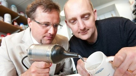 Ultrasonic nozzle promises better cleaning with less water | Slash's Science & Technology Scoop | Scoop.it