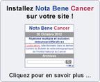 Nota Bene Cancer V2 - Institut National Du Cancer | Hématologie | Scoop.it
