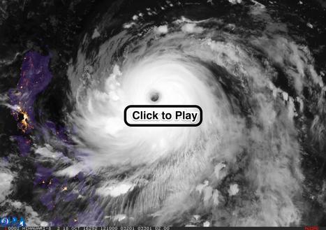 Incredible satellite video of Super Typhoon Haima — ImaGeo | EM 451 Disaster Planning | Scoop.it