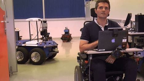 3D motion technology lets wheelchair users move with the wink of an eye | Technology for Good | Scoop.it