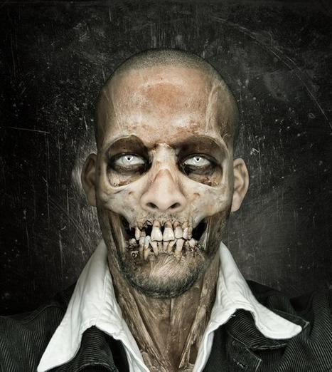 Halloween Photoshop - Skull Face Tutorial | Teaching Yourself Graphic Design | Scoop.it