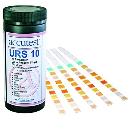 Urocheck 10 SG Urine Analysis Test Strips Bx/ 100 * Physician Supplies * Diagnostic Testing * 8804 | Durable Medical Equipment | Scoop.it