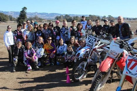 A Big Start to 2014 for Shelina Moreda, Girlz Motocamp and She'z Racing | California Flat Track Association (CFTA) | Scoop.it