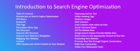 SEO Starter Guide, Introduction Guide to SEO - Ignite Visibility | Work From Home | Scoop.it