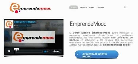 EmprendeMOOC, un curso gratuito online para emprendedores, en español   E-Learning, M-Learning   Scoop.it