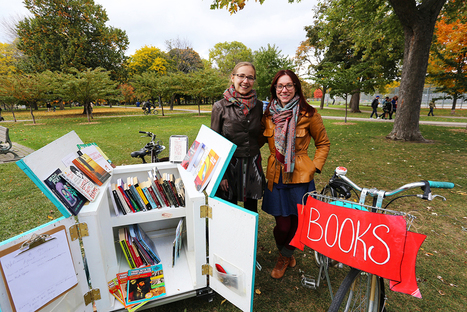Book Bike: Delivering delight and pedalling prose | SocialLibrary | Scoop.it