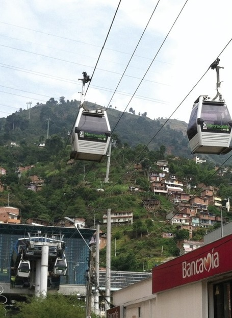 Urban Field Notes: Medellin Metrocable | transports par cable - tram aérien | Scoop.it