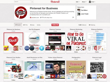 Pinterest : les comptes entreprises sont arrivés ! | Digital Social Club | Scoop.it