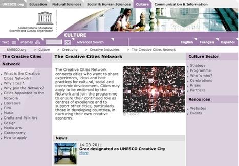 Uma rede de cidades criativas   Urban Life   Scoop.it