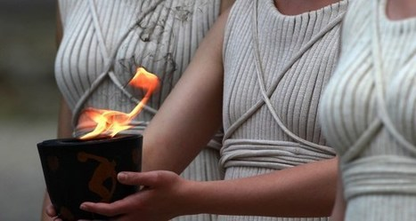 """LIGHTING AND HANDOVER CEREMONY OF THE OLYMPIC FLAME """"Rio 2016"""" 