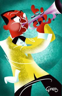The Illustrations of Daniel Swartz   Graphic Design Course   Scoop.it