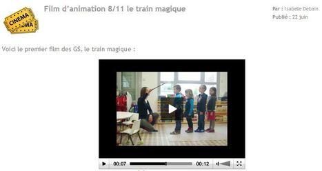Académie Orléans-Tours. Ecole Maternelle d'Epeigné-les-Bois (37) Création d'un film d'animation   Vie numérique  à l'école - Académie Orléans-Tours   Scoop.it